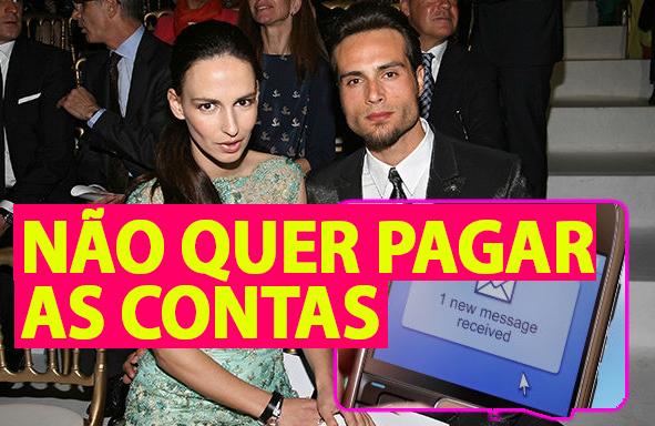 """Photo of Isaac Alfaiate é acusado de não querer pagar as contas """"A Lúcia está furiosa"""""""