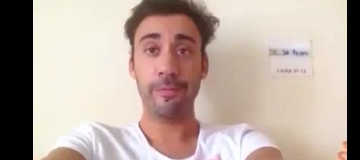 Photo of Pedro Capitão ainda está hospitalizado mas deixa mensagens aos fãs