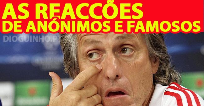 Photo of As primeiras reacções da mudança de Jorge Jesus para o Sporting