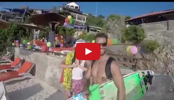 Photo of Pedro Guedes e Kelly Baron partilham vídeo das férias na Indonésia pagas pelos fãs – EPI 2