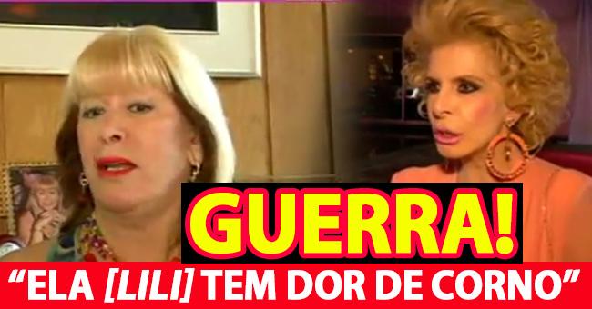 """Photo of Jô Caneças diz """"Ela [Lili Caneças] tem é dor de corno]"""