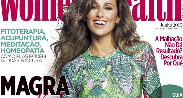 Photo of Rita Pereira é a capa da Women's Health BRASIL