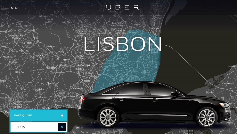 Photo of Website da Uber já não está disponível em Portugal, mas a app mantém-se