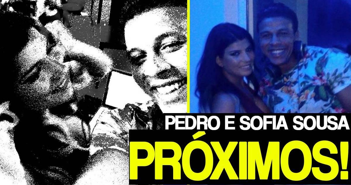 Photo of Sofia Sousa e Pedro Luso muito próximos