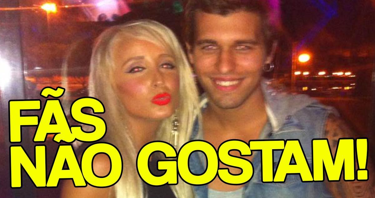 Photo of Juliana Dias e Tiago Ginga cada vez mais juntos e fãs ficam danados