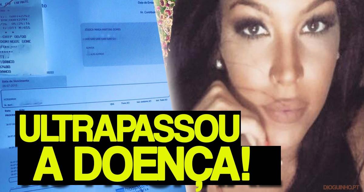 Photo of Jéssica Maria já ultrapassou a gastroenterite