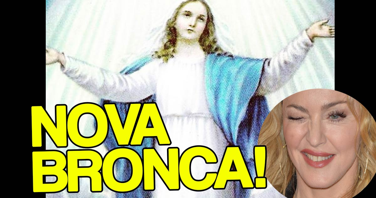 Photo of Madonna já está envolvida em nova bronca devido à Virgem Maria