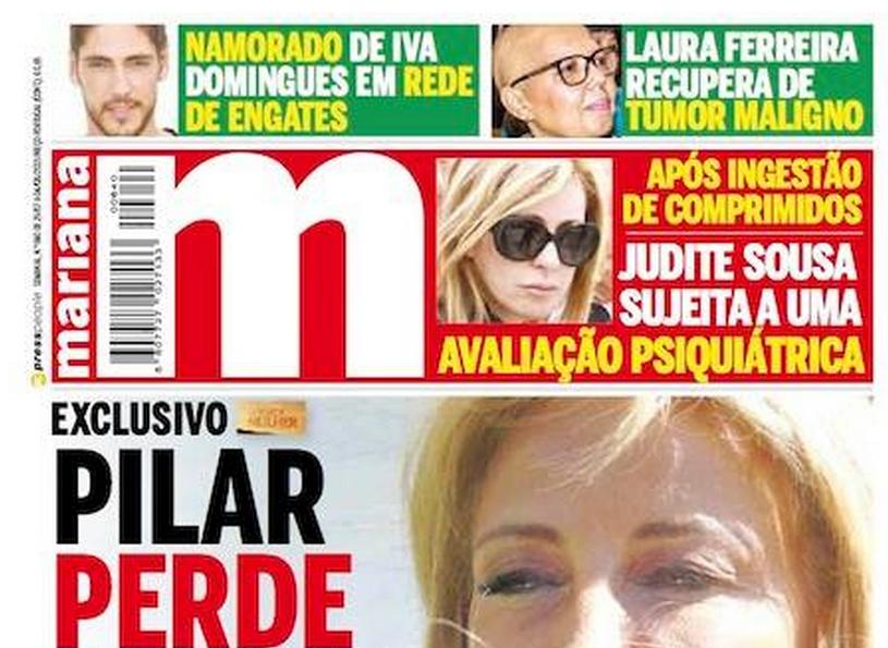 Photo of Judite de Sousa sujeita a avaliação psiquiátrica