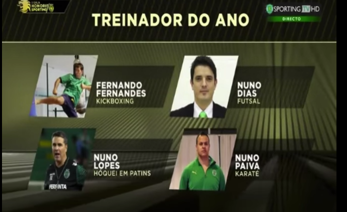 Photo of Sporting elege treinador do ano sem ele estar sequer nomeado