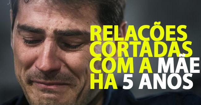 Photo of Iker Casillas não fala com a mãe há 5 anos e despachou os pais da sua vida