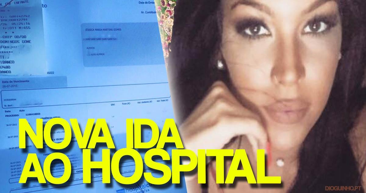 Photo of Jéssica Maria foi hospitalizada e vem justificar-se com provas. Ridículo