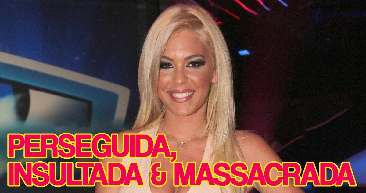 Photo of Jéssica Maria é perseguida, insultada e massacrada