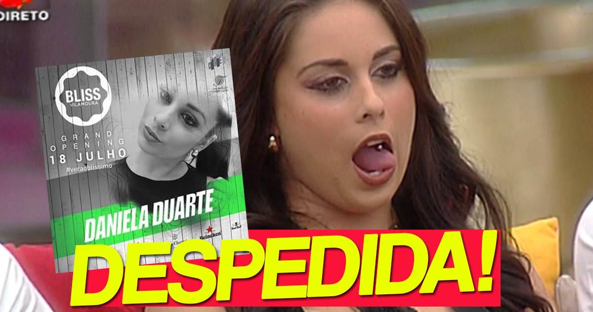 Photo of Daniela Duarte foi despedida da discoteca Bliss, nem uma semana aguentou