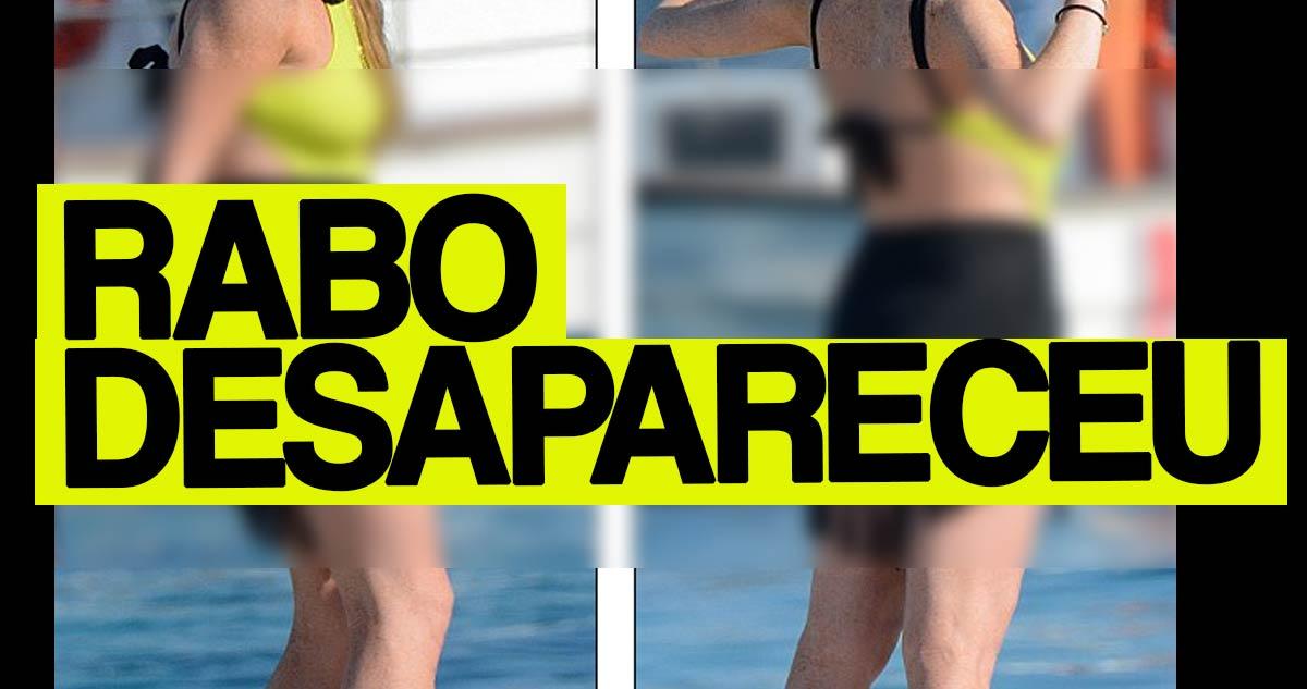 Photo of Rabo da Lindsay Lohan realmente desapareceu