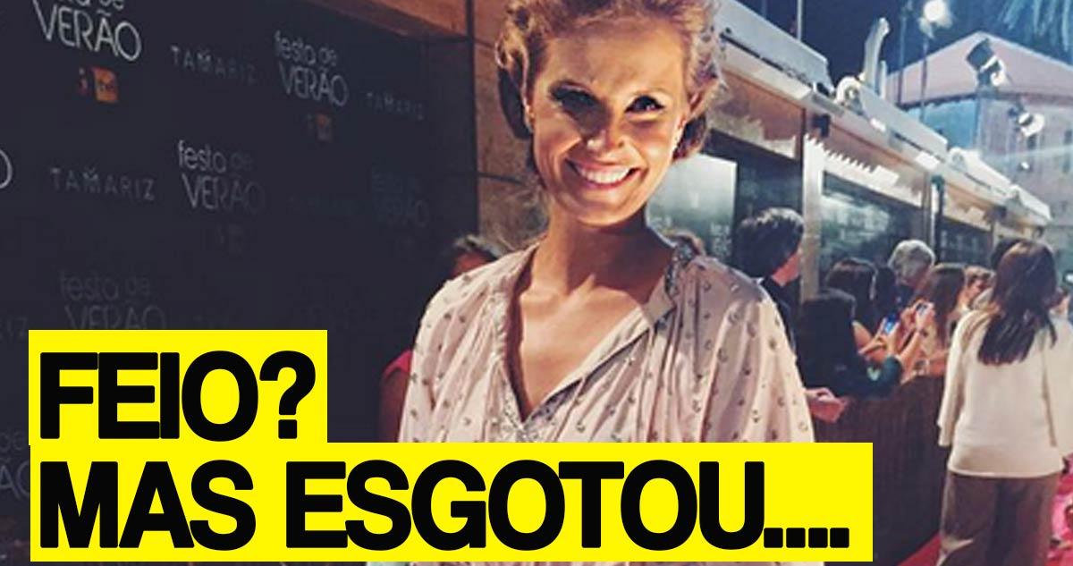 Photo of O vestido da Cristina Ferreira era horroroso mas esgotou!