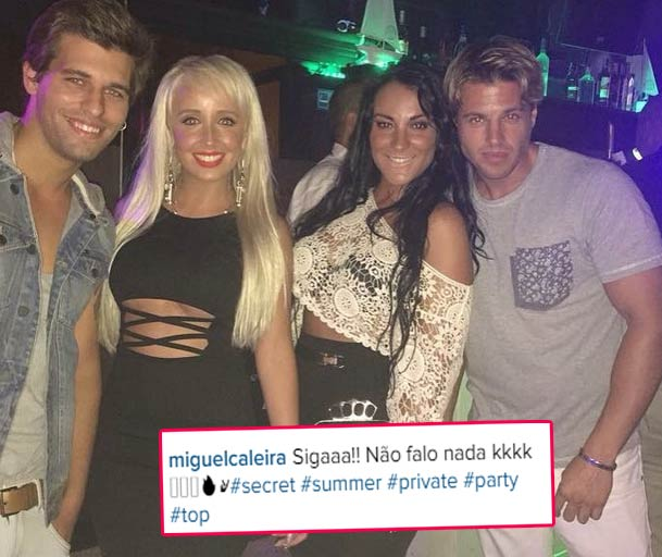 Photo of Tiago Ginga prefere andar na noite com Juliana, Cristiana e Miguel Caleira do que em ver o filho?