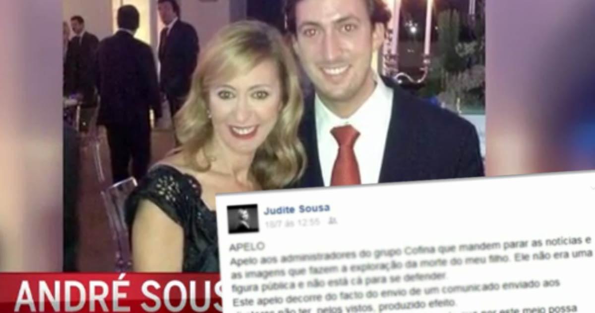 Photo of Judite Sousa faz apelo online sobre filho
