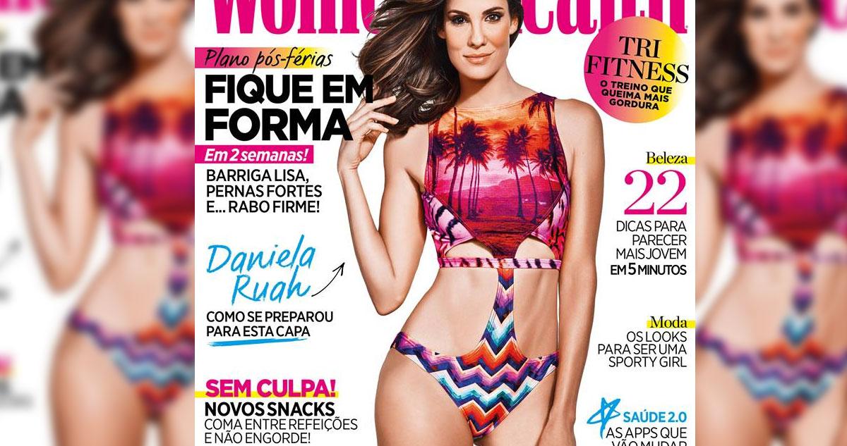 Photo of Daniela Ruah é a nova capa da revista  Women's Health Portugal