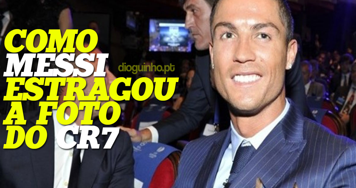 Photo of Messi estragou fotografia de Cristiano Ronaldo tipo emplastro