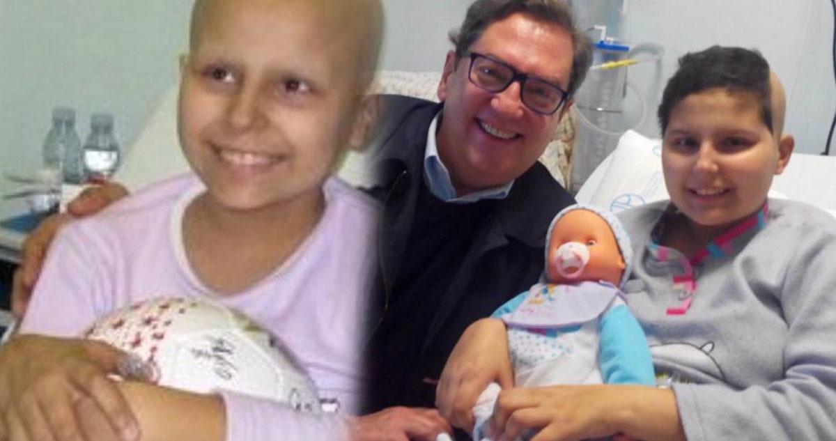 Photo of António Sala deixa mensagem emocionado a amiguinha que faleceu de cancro