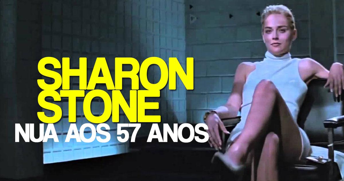 Photo of Sharon Stone posa nua aos 57 anos