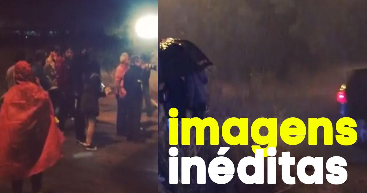 Photo of A Única Mulher: Rita Pereira partilha imagens inéditas do atropelamento de Júnior