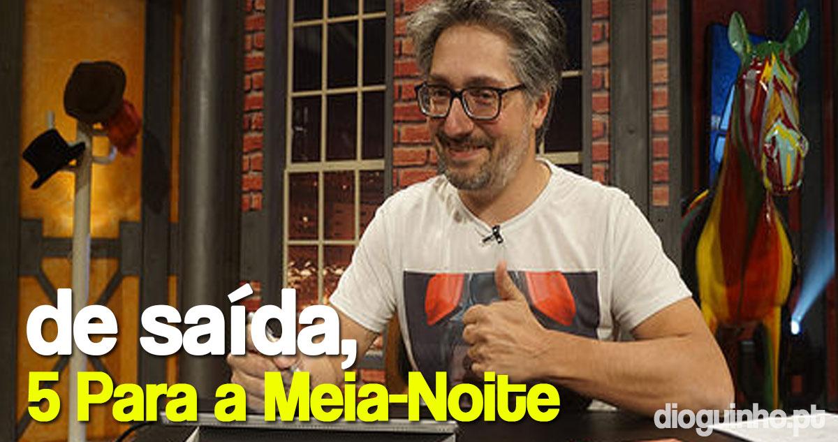 Nuno Markl confirma saída do '5 Para a Meia-Noite'