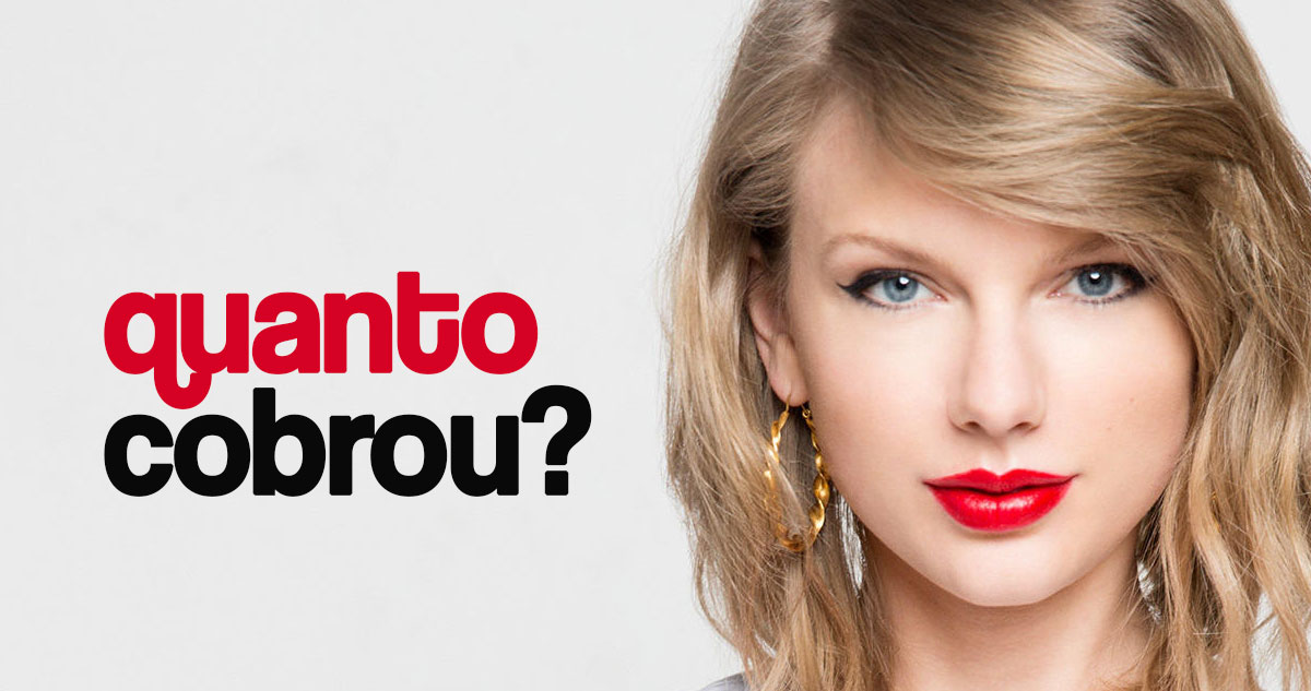 Photo of Quanto cobrou a Taylor Swift para cantar no baptizado do afilhado?