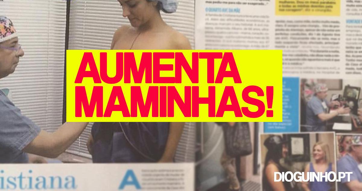 Photo of Cristiana Dionísio aumentou as maminhas e mostra o material
