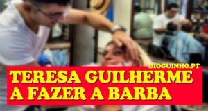 Teresa Guilherme está de férias por Braga