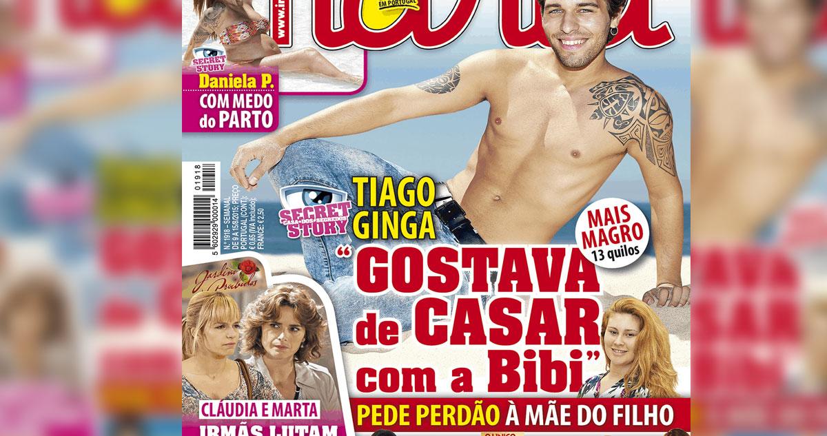 Photo of Tiago Ginga pede perdão à Bernardina e quer casar com ela