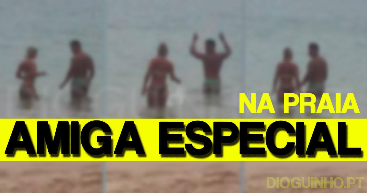 Photo of Pedro Luso apanhado na praia com amiga especial… e não é a Sofia Sousa