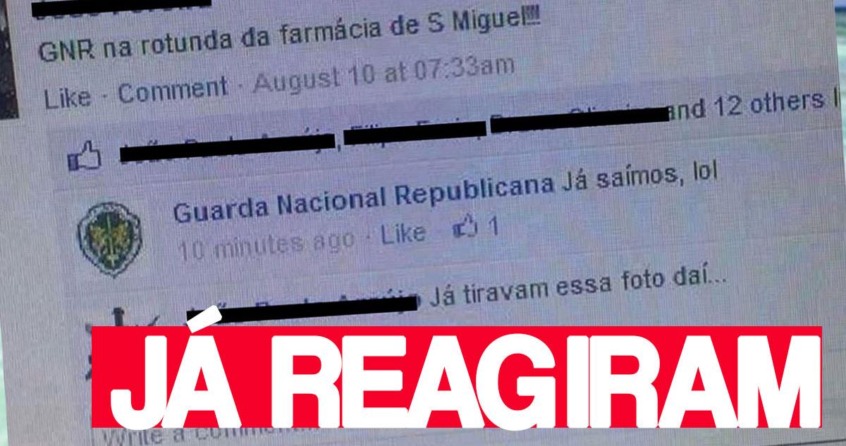 Photo of GNR já reagiu a imagem víral nas redes sociais