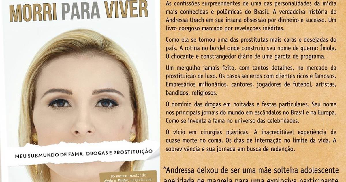 Photo of Livro de Andressa Urach está entre os mais vendidos no Brasil