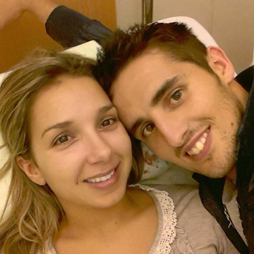 Photo of Hugo Vieira dedica golo à sua namorada que faleceu de cancro