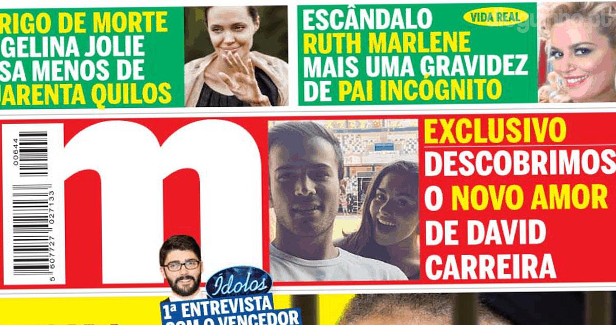 Photo of Revista Mariana: Foi encontrado o novo amor de David Carreira
