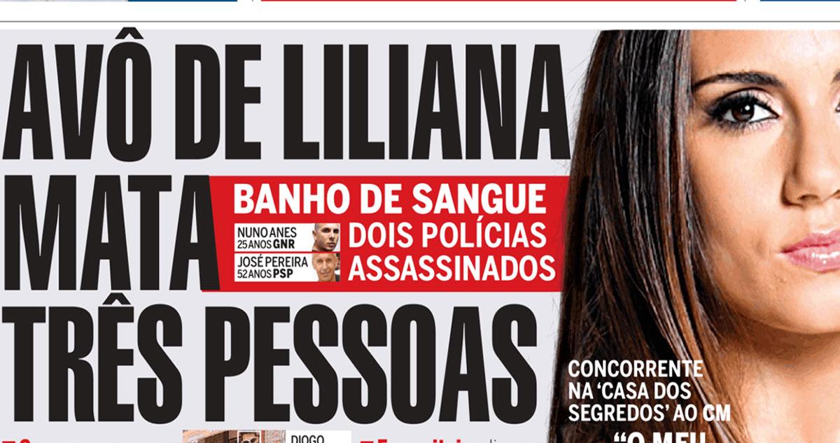 Photo of Liliana Filipa já reagiu acerca do avô homicida