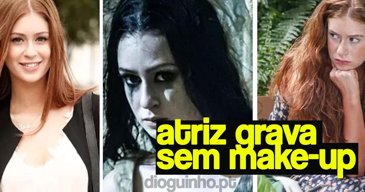 Photo of Marina Ruy Barbosa grava novela sem make up