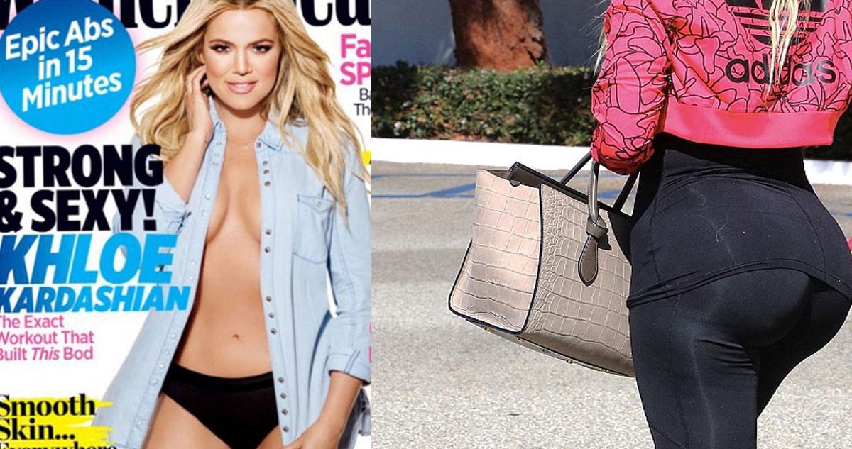 Photo of Khloe Kardashian perdeu 15 quilos e é capa da Women's Health