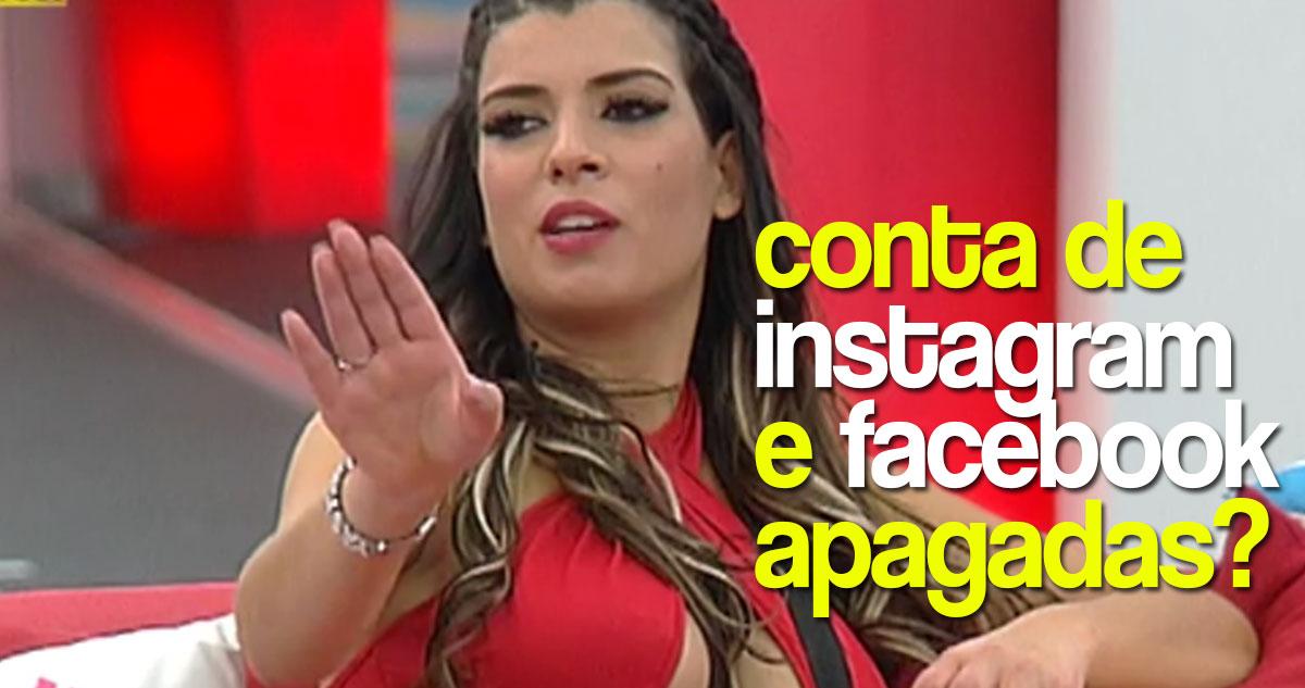 Photo of Sofia Sousa 'apaga' Instagram e Facebook e fãs fritam a pipoca