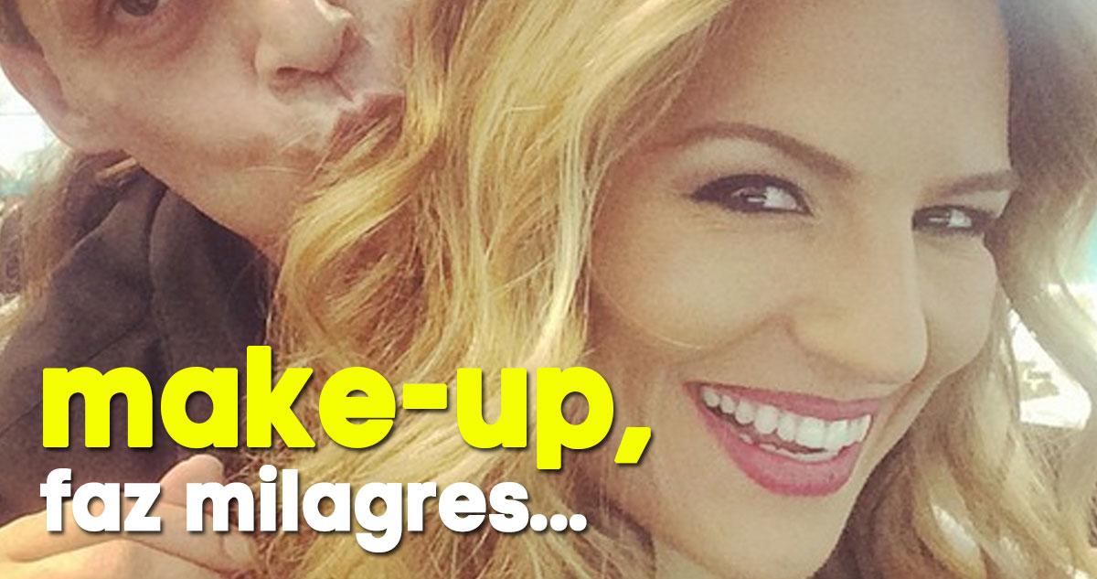 Photo of Ana Rita Clara: mais um caso de 'make-up faz milagres'