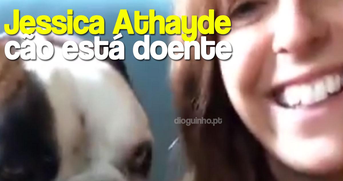 Photo of Jessica Athayde explica o problema que tem o seu cão Júlio