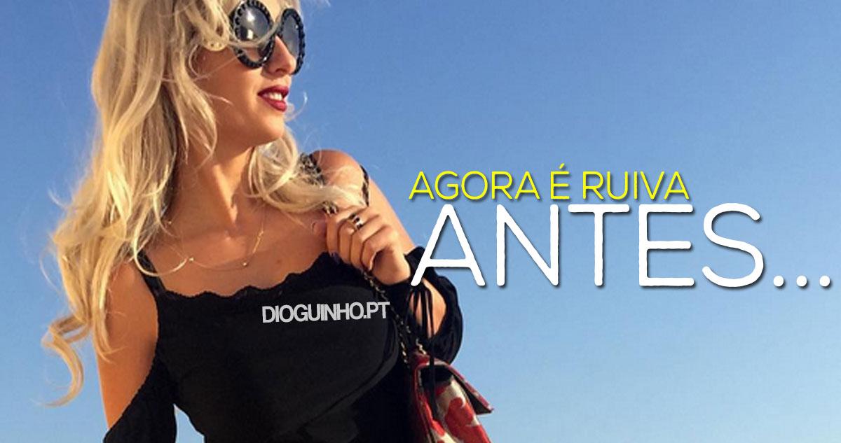 Photo of Agnes Arabela passou de loira… a ruiva