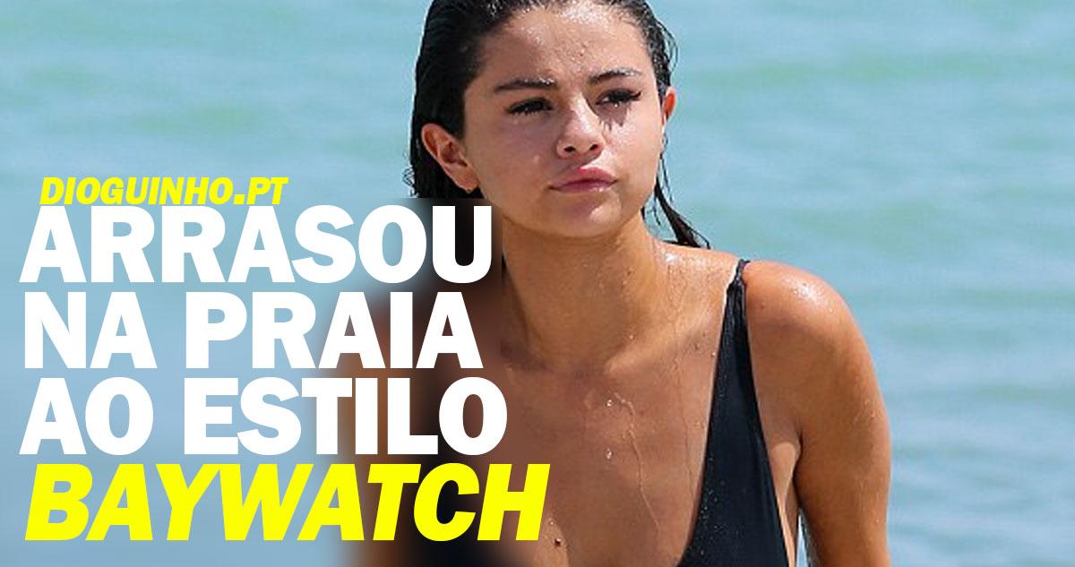 Photo of Selena Gomez foi chamada de gorda, mas arrasou na praia em estilo «baywatch»