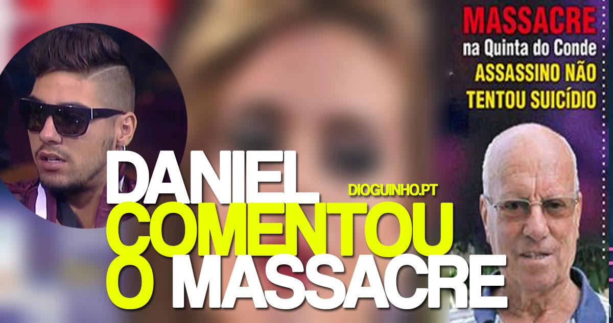 Photo of Daniel Gregório vem para a imprensa comentar as mortes na Quinta do Conde