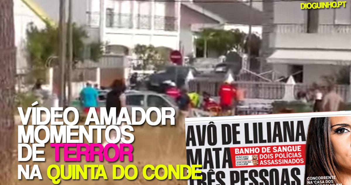 Photo of Mais um vídeo amador mostra momentos de terror na Quinta do Conde