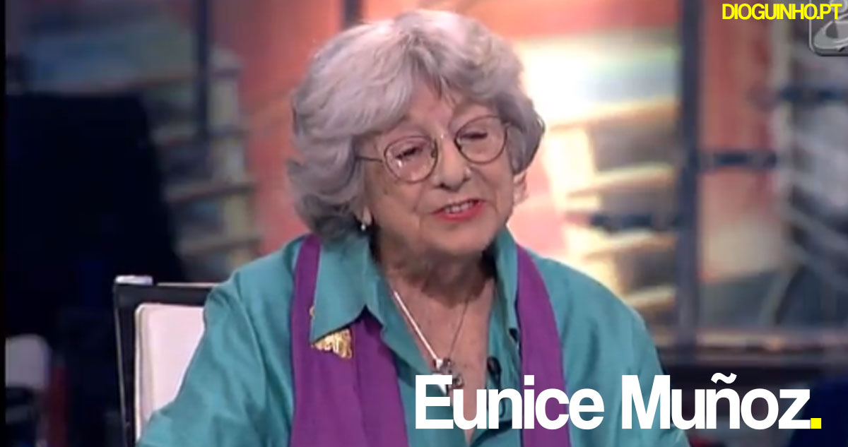 Photo of Eunice Muñoz foi homenageada por Rita Pereira