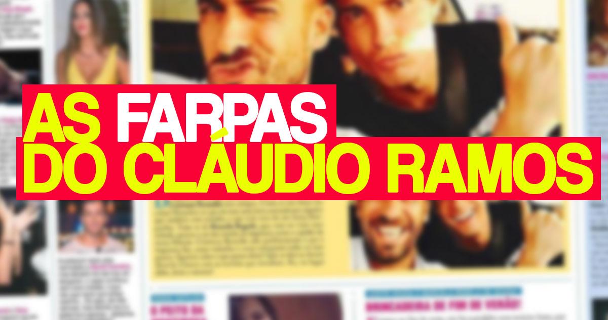 Photo of Cláudio Ramos lança farpas a Agnes Arabela e Liliana Filipa