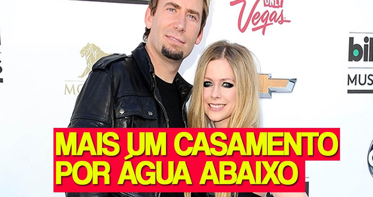 Photo of Avril Lavigne e Chad Kroger – Mais um casamento que foi por água abaixo
