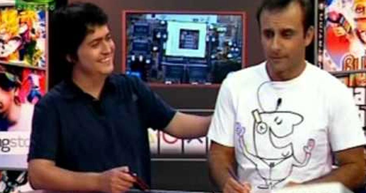 """Photo of Rui Unas e Fernando Alvim em """"5 Para a Meia-Noite"""""""